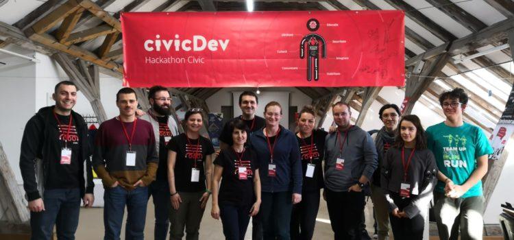 Participare la CivicDev Datahack 22-23 iunie 2019